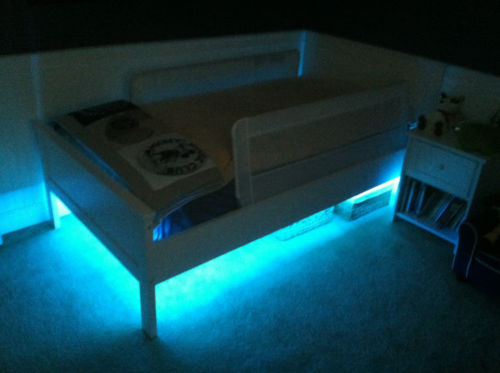 Doppelbett LED Sensor Bed Light