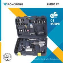 Rongpeng RP7834b Kits d'outils pneumatiques
