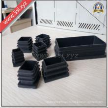 Tapones roscados LDPE excelentes para tubo cuadrado y rectangular (YZF-H218)