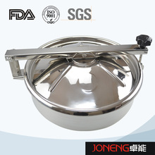 Stainless Steel Hygienic Round Type Manhole Cover (JN-ML2003)