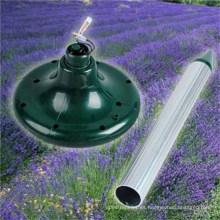 Repelente de topos con energía solar / Repelente de serpiente solar- Protector al aire libre