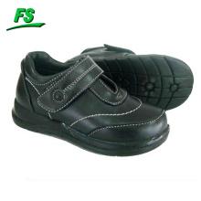 high quality black girls school shoes
