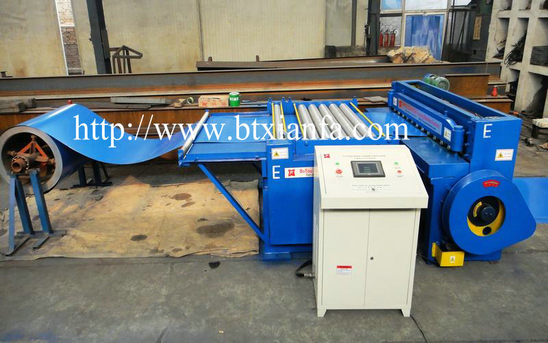cutting machine metal
