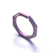 Gr5 Titan-Schnellverschluss-Schlüsselringe mit seitlichem Druck