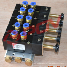 Double coil control air solenoid valve