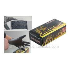 2016 Nouveaux gants noirs de tatouage jetables Consommables permanents Accesesories Supply