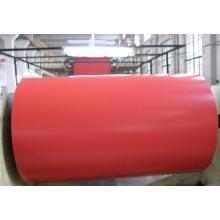 1100 Mill Finish Aluminum Red Color Coated coil