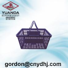 Wholesale Supermarket Plastic Shopping Basket Zc-1-A