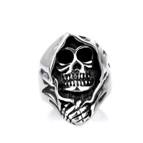 Fashion religion skull finger ring