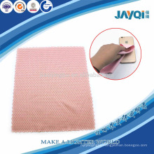 pink microfiber mobile phone cloth