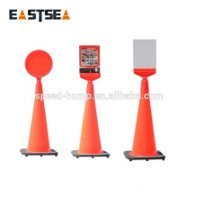 New Product 2014 LLDPE Flexible Assemble Traffic Cone Reflective Warning Sign Board