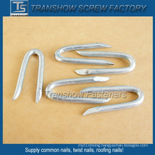 65mn Steel Galvanized U Shaped Nails