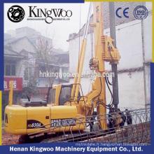 équipement de forage de forage hydraulique avec kelly bar 5 sections