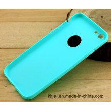 Couverture souple de téléphone portable de prix bas pour l'iPhone 6