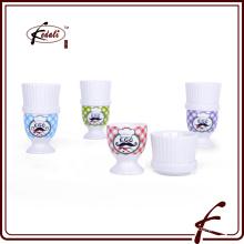 Tasse à oeufs en céramique de haute qualité / bac d'oeuf / porte-oeufs