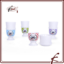 high quality ceramic egg cup/egg tray/egg holder