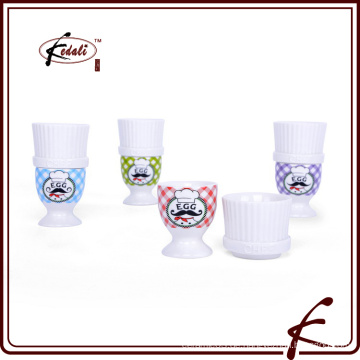 Hochwertiger keramischer Eierbecher / Eierbecher / Eierhalter