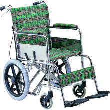 Silla de ruedas de alta calidad médica tipo acero