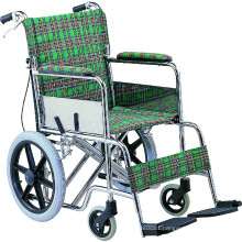 High Quality Medical Steel Type Wheelchair