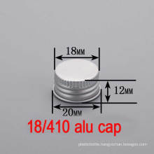 18mm Aluminium Plastic Screw Bottle Round Hat/Cap