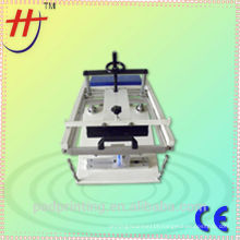 Model LT-S2 easy operationmanual round screen printing machine for cylindrical objects,manual curved surface screen printer