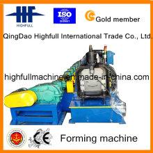 Verzinkte Farbe Stahl Gutter Roll Forming Machine