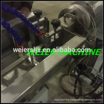 single outlet of PVC edge band making machine with lowest price