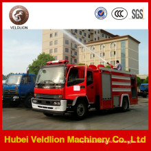190HP 6m3 Water Tank Fire Truck with 2m3 Foam Tank