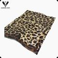 Flor retrô atacado de mulheres e padrão de animais leopardo lenço de seda