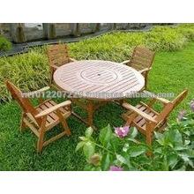 Solid wood Outdoor / Garden Furniture Set