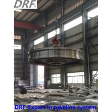 Rueda del puerto (las ventas de la fábrica de acero de aleación de la locomotora del puerto forjando la rueda)