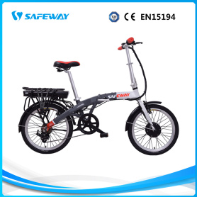 Front-drive 250W brushless motor folding electric bike