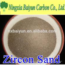 66% de sable de zircon australien de haute pureté pour réfractaire
