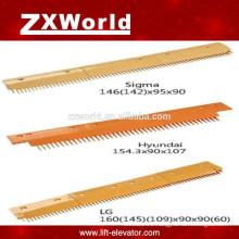 thyssen/hyundai escalator parts/comb plate