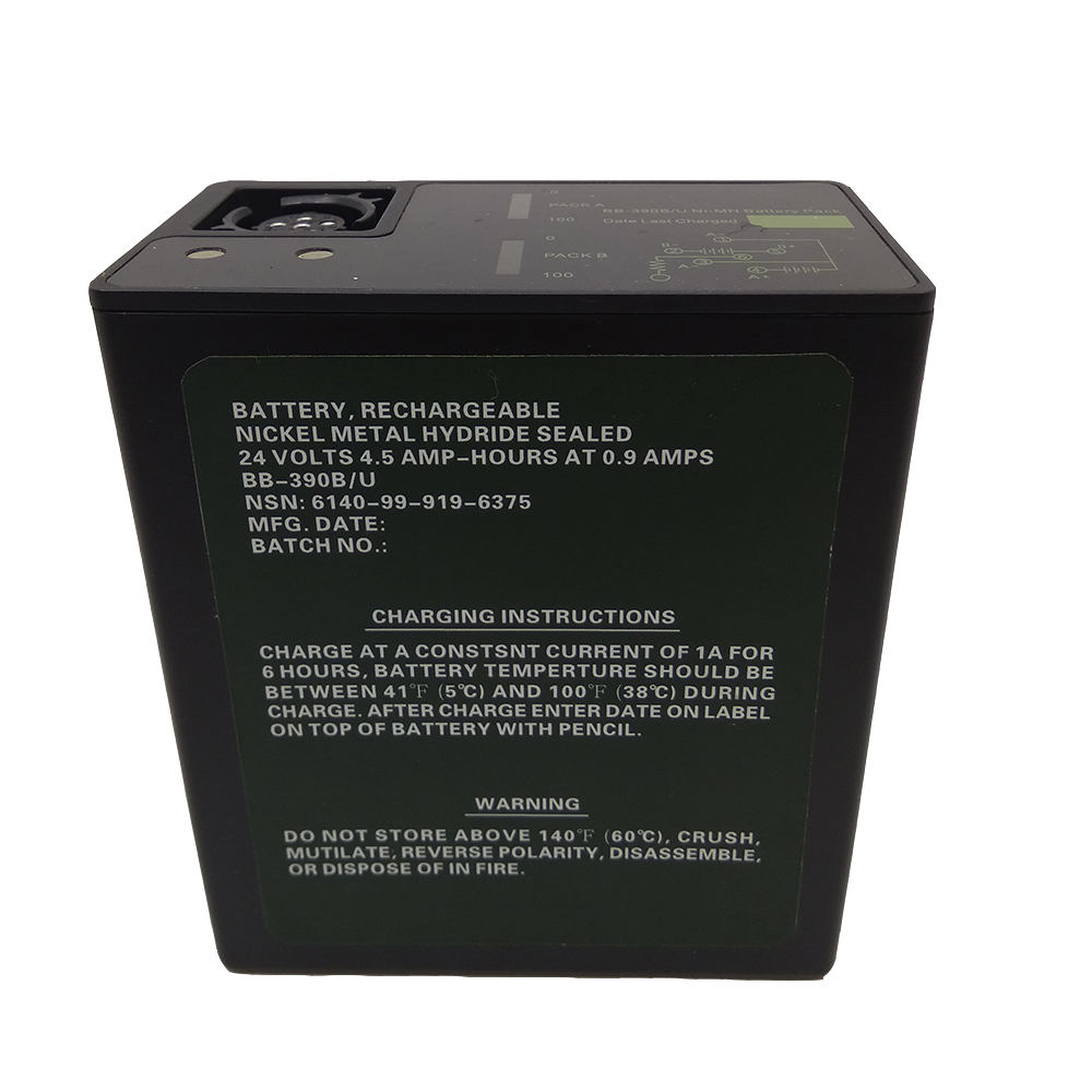 BB390U ni-mh rechargeable battery