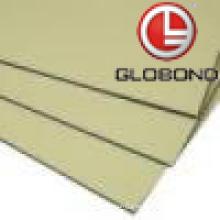 GLOBOND FR Panel compuesto de aluminio ignífugo (PF-413 marfil)