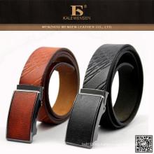 Cinturón de cuero vendedor caliente de los hombres de la cerradura de la venta más caliente de la manera más caliente