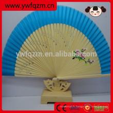 ventilateur de main sculpté en bois de bambou farvor, cadeaux de décoration de fête de mariage