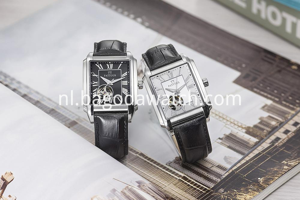 Mens Automatic Stainless Steel Watch
