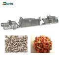Línea de extrusión de alimentos para mascotas para perros de 500 kg / hr