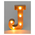 New Plastic LED Letter for Home Decoration