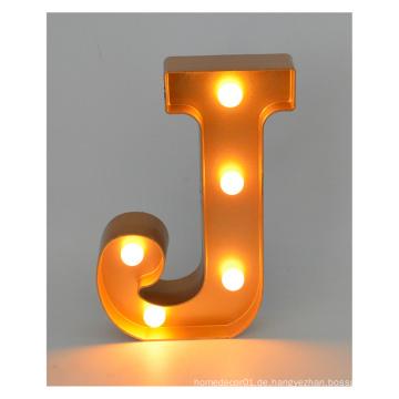 Plastik LED Buchstabe für Weihnachtsdekoration