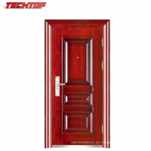TPS-035 puerta de seguridad de la puerta de acero del fabricante profesional de China para la oficina en el hogar