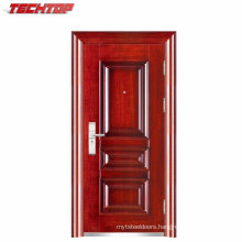 TPS-035 Metal New Design Safe Anti-Theft Exterior Steel Door