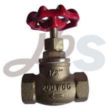 Fabricante de válvula de globo de bronce de alta calidad C83600