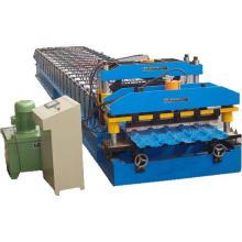Precio del fabricante Rollo de techo de teja esmaltada que forma la máquina