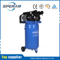 Upright stand up vertical handheld portable mobile 3hp industrial belt driven electric air compressor