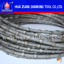Hochwertige Diamant Profilng Draht Granit Kunststoff-Injektion zum Verkauf