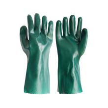 Einzeln getauchte PVC-beschichtete Arbeitshandschuhe mit glatter Oberfläche