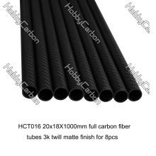 3k 20x18x1000mm carbon fiber tube for RC toys
